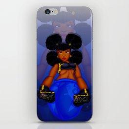 Tough Girl iPhone Skin