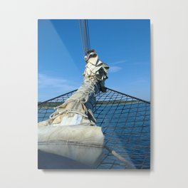 Bowsprit Metal Print
