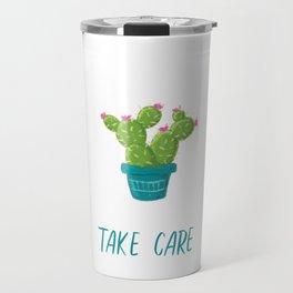 Take Care - Houseplants, Cactus, Succulents, Plants Travel Mug