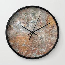 Galvanized beauty Wall Clock