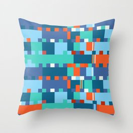 Chopin Fantaisie Impromptu (Anemone & Coral Colours) Throw Pillow