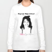 britney spears Long Sleeve T-shirts featuring Britney Spears Baby Legend by franziskooo