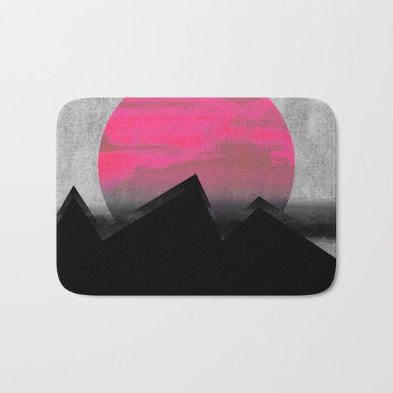 Pink Sun Bath Mat