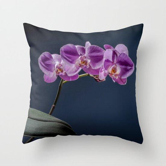 Magic Flowers Throw Pillow