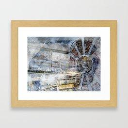 HADRON COLLIDER Switzerland Framed Art Print