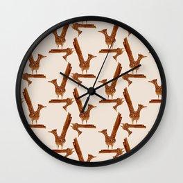 Monochrome - Roadrunner Wall Clock