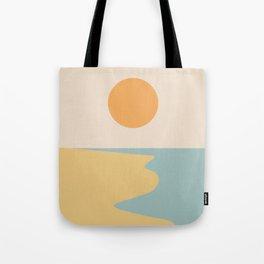Ocean Sunset / Sunrise II Tote Bag