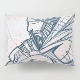 Jesus Christ Good Shepherd Pillow Sham