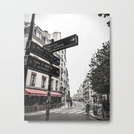 The 3 mile walk Metal Print