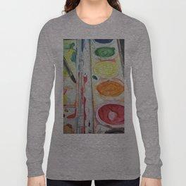 Paint Palette Long Sleeve T-shirt
