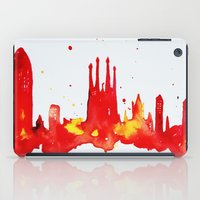 barcelona iPad Cases featuring Barcelona by Talula Christian