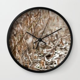 Harvest Season Wall Clock