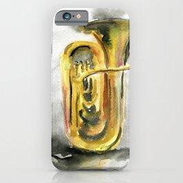 Solo tuba iPhone Case