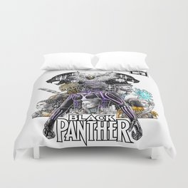 Black Panther Fan Piece Duvet Cover