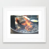 rustic Framed Art Prints featuring rustic by Jess Duffy