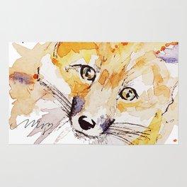 Sweet fox Rug