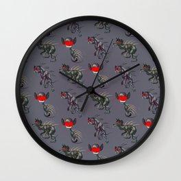 Chupacabra Chow Wall Clock