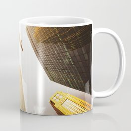 airplane in nyc Coffee Mug