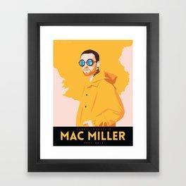 Larry Lovestein (Mac Miller) Framed Art Print