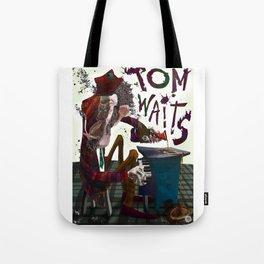 Tom Waits Tote Bag