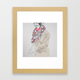 Wrap Up! Framed Art Print