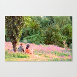 And The Wall Fell Canvas Print