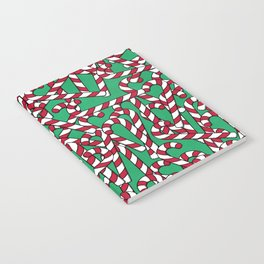 Candy Canes Notebook