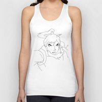 the legend of korra Tank Tops featuring Korra by TheGiz