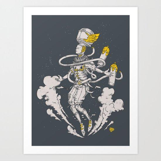 Vasto Cosmonaut  Art Print