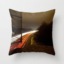 Freeway Throw Pillow