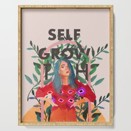 Self growth Serving Tray