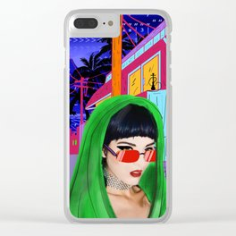 SITA walks home alone at night Clear iPhone Case