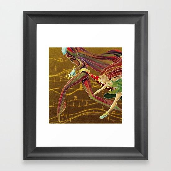 Wait for me! Framed Art Print