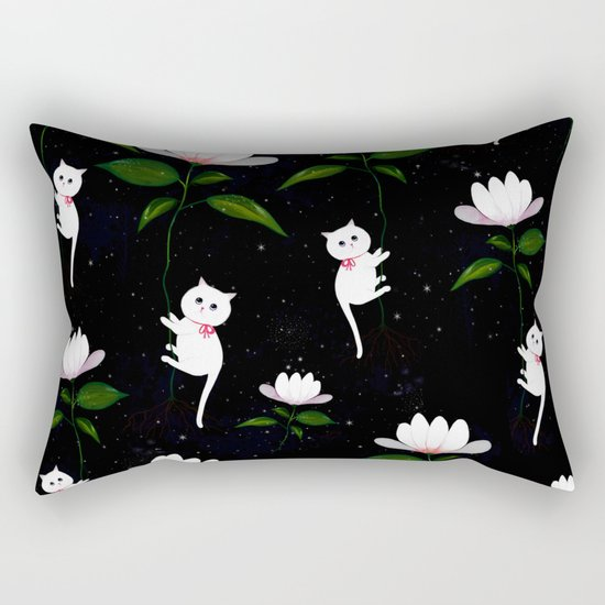 Myrtle in Space Rectangular Pillow