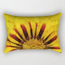 Sunflower Indian Style Mosaic pattern Rectangular Pillow
