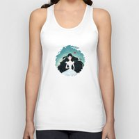 snow white Tank Tops featuring Snow White by Serena Rocca