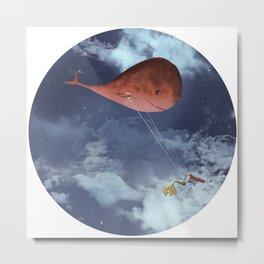 Of Whales and Mermaids Metal Print