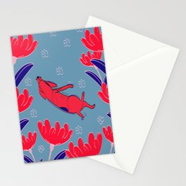 Mini the dog Stationery Cards