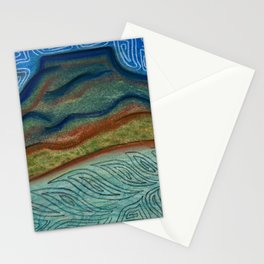 Pedernal Mesa watching over Abiquiu Lake  Stationery Cards