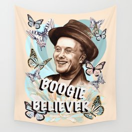 Mark Boogie Believer Wall Tapestry