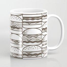 Burgers Wall Coffee Mug