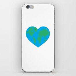 Earth Love iPhone Skin