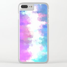 Hopeful Dreams Clear iPhone Case