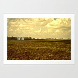 An Open Field Art Print
