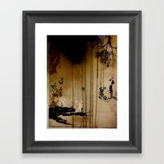 Girl Framed Art Print