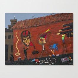 Basquiat Lives Canvas Print