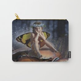 Mad Mushroom Fairy Carry-All Pouch