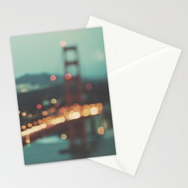 San Francisco Golden Gate Bridge, Sweet Light Stationery Cards