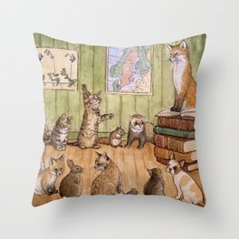 Classroom Throw Pillow