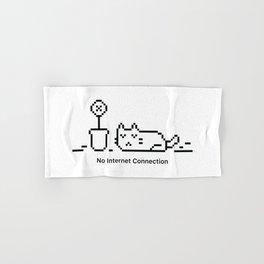 No Internet Connection Hand & Bath Towel